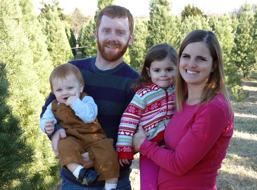Family Christmas Tree Tradition