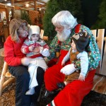 Santa Visits Christmas Tree Farm