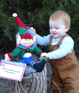 Christmas Tree Farm Elf Trail